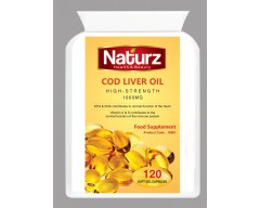 Cod Liver Oil 1000mg Capsules