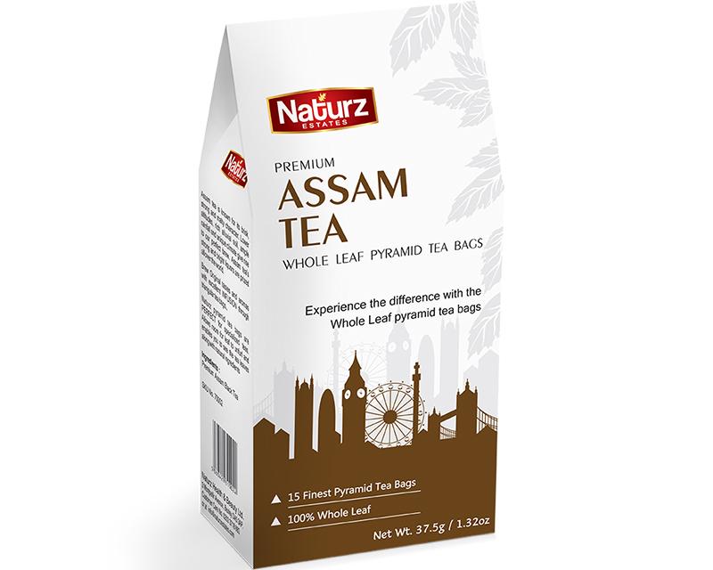 Buy Assam Tea Online | Assam Whole Leaf Pyramid Tea Bags