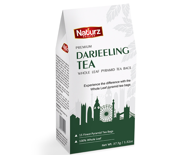 Premium Darjeeling Whole Leaf Pyramid Tea Bags