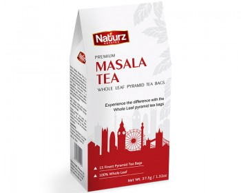 Premium Masala Whole Leaf Pyramid Tea Bags